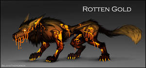 [CLOSED] Adopt Auction : Rotten Gold by BelieveTheHorror
