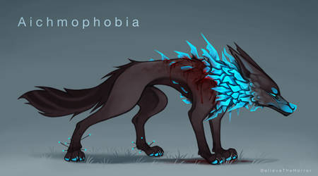 [CLOSED] Adopt Auction : Aichmophobia by BelieveTheHorror