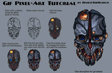 Pixel Tutorial by BelieveTheHorror