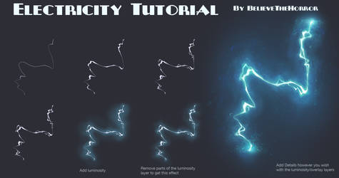 Electricity Tutorial by BelieveTheHorror