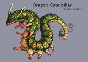 [OPEN] Adopt Auction : Dragon Caterpillar by BelieveTheHorror
