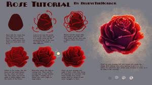 Rose Tutorial by BelieveTheHorror