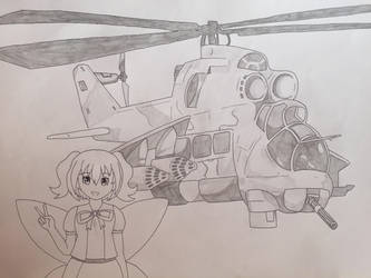 Heli and Hind by Major-11