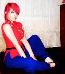 Ranma costume by r-a-n-k-o