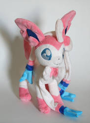 Sylveon Plushie by Yukamina-Plushies