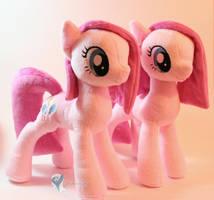 Two Pinkies by Yukamina-Plushies
