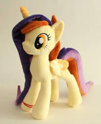 Pony OC Lessi Plushie by Yukamina-Plushies