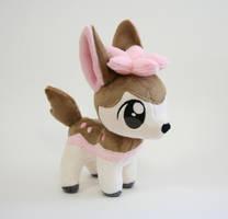 Shiny Deerling Chibi Plush by Yukamina-Plushies