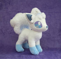 Alolan Vulpix Plush by Yukamina-Plushies