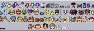 Nintendo Emoticons by OptimalProtocol