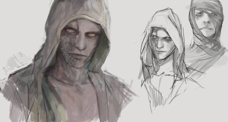 Ruvik - The Evil Within (wip) by Galaxianin