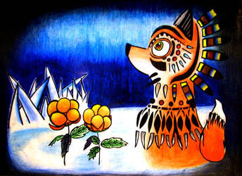 Lapland fox by seyp