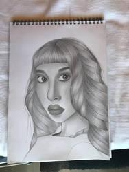 Melanie martinez sketch by pattydrawsnshit