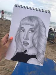 Melanie Martinez by pattydrawsnshit