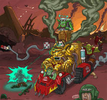 Damned Orks... by The-Imperial-Guard