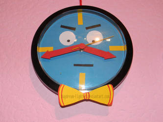 Tony the talking Clock by Novachipmunk