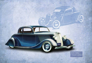1934 Blue by PachecoKustom
