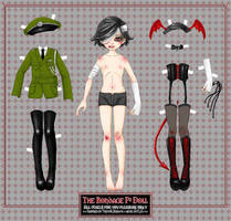N 6 PAPER DOLL contest by TrevorBrown