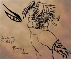 Uchiha Sasuke by BrunoDeLeo