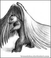 Boris the Winged Bear by BrunoDeLeo