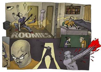 Roomies p1 by BrunoDeLeo