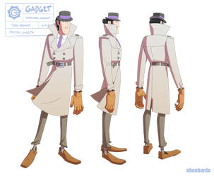 Inspector Gadget Turn Around by nlombardo