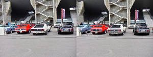 Mustang 3D (stereoscopic) by Bigburgy