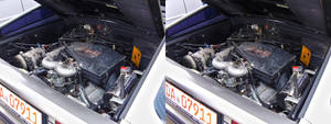 Delorean Engine in 3D (Stereoscopic) by Bigburgy