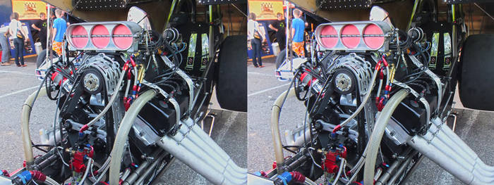 Nitrolympx 2013 Hockenheim - 3D Stereoscopic 19 by Bigburgy