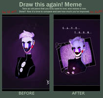 Draw This Again Meme-FNAF by 7greenTears