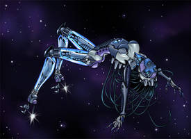 Robot Girl by MrOrozco