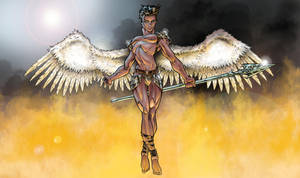 Angel Warrior by MrOrozco