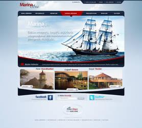 marina sea by gdnz