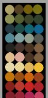 Color Palette by LemonPetals
