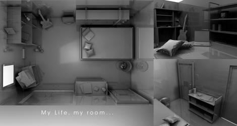 My room by StapledShut980