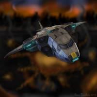 XCOM: SkyRanger by AxeMan5