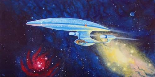 Enterprise-D by Ninquelen