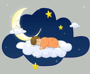.: Sleeping on a cloud 2 :. by melimelo