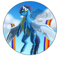 Soarin Bubble by Blitzblotch