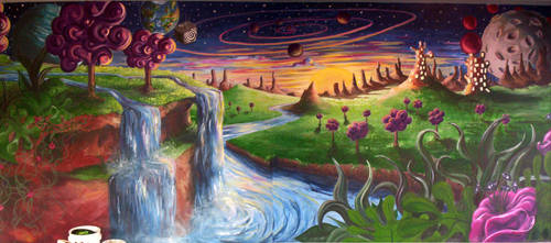 Surreal Landscape by Filberts