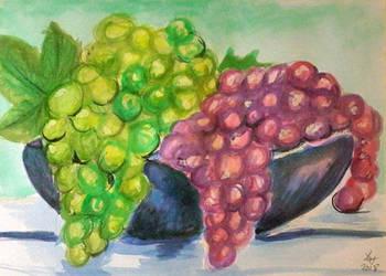 Grapes by loretta-nash