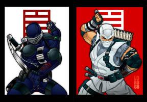 Ninjas by lordmesa