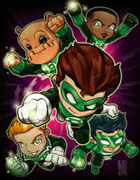 Lil Green Lantern Corp by lordmesa