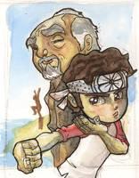 I'm an 80s Kid - Karate Kid by lordmesa