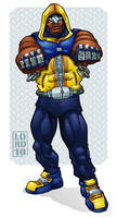 Luke Cage Redesign by lordmesa