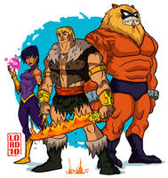 Thundarr the Barbarian by lordmesa