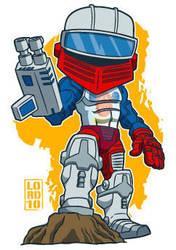 Lil Roboto by lordmesa