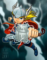 Lil Thor by lordmesa