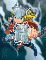 Lil Thor 3D by lordmesa