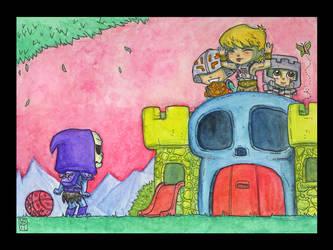 Defenders Of Playskull by lordmesa